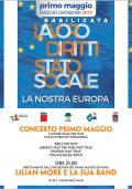 PRIMO MAGGIO 2019 - Cgil, Cisl, Uil, Comune di Ferrandina e Fondazione Matera - Basilicata 2019 o a Ferrandina